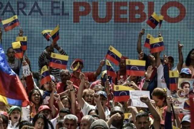 Chavismo inicia campanha eleitoral para Constituinte