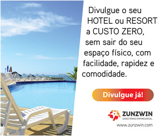 Banner Hotel Resort Zunzwin Promoção