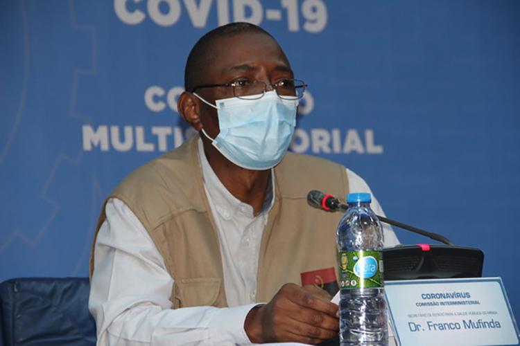 Covid-19: Angola com 227 novas infecções e 117 recuperados