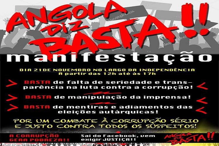 Nova manifestação em Luanda marcada para sábado   Portal de Angola